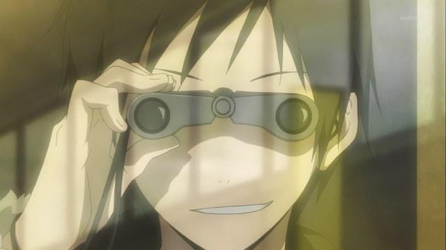 Image result for anime binoculars